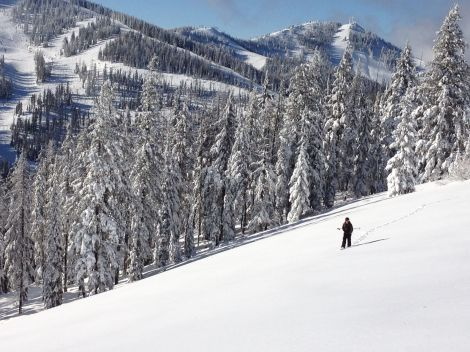 Snowshoeing at Silver