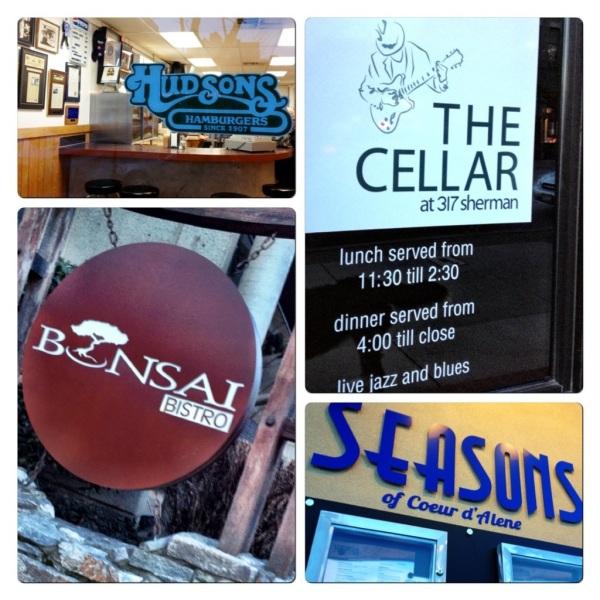 Hudson's, The Cellar, Bonsai and Seasons