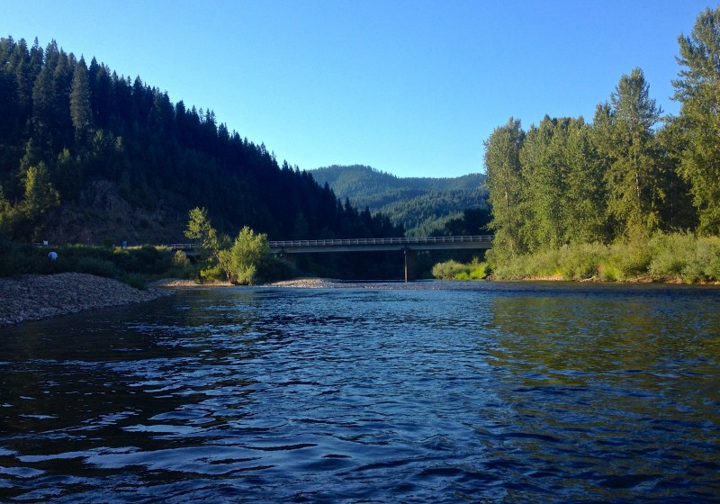 North Fork Cd'A River