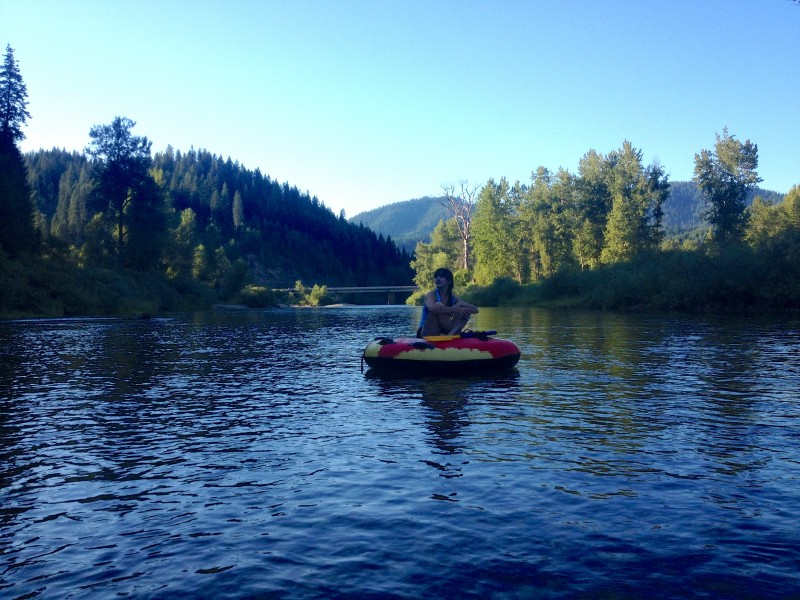 Floating the CdA River